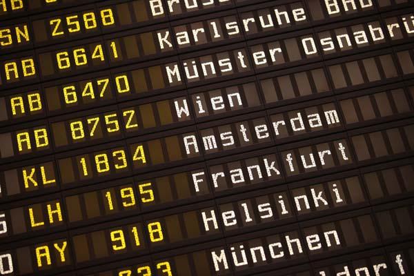 Geschäftsreisen, Reiseverbindung, Reiseplan, Flug, Business Travel, Meimberg, Münster