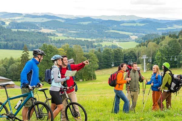 sanfter Tourismus, Fahrradtour, Fahrradreise, nachhaltig Reisen, Meimberg, Münster